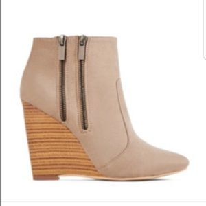 Taupe booties!